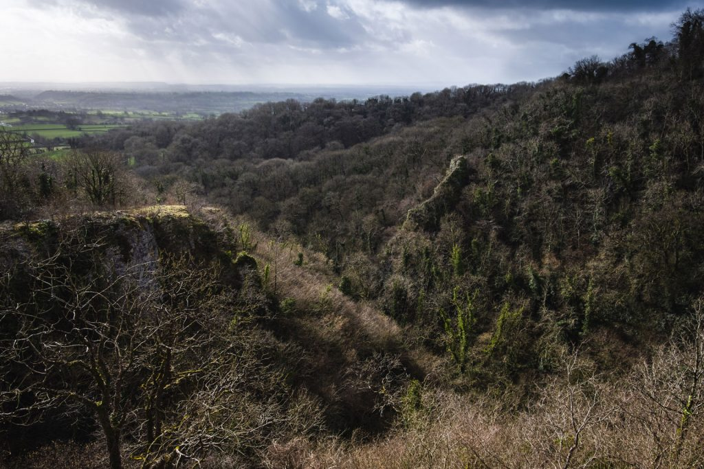 Landscape photograph of Ebbor Gorge