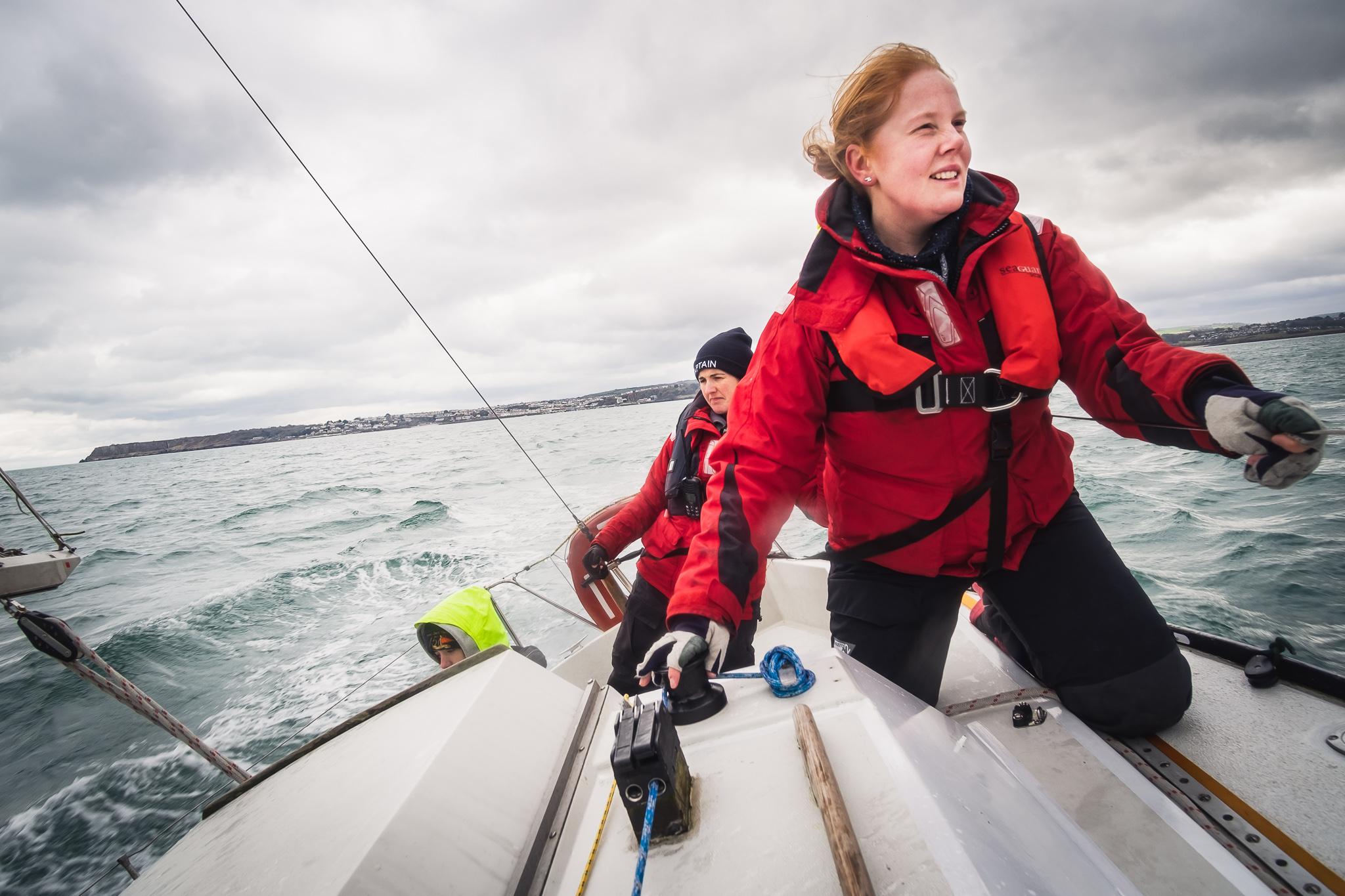 Rachel Varnam Sailing Torbay