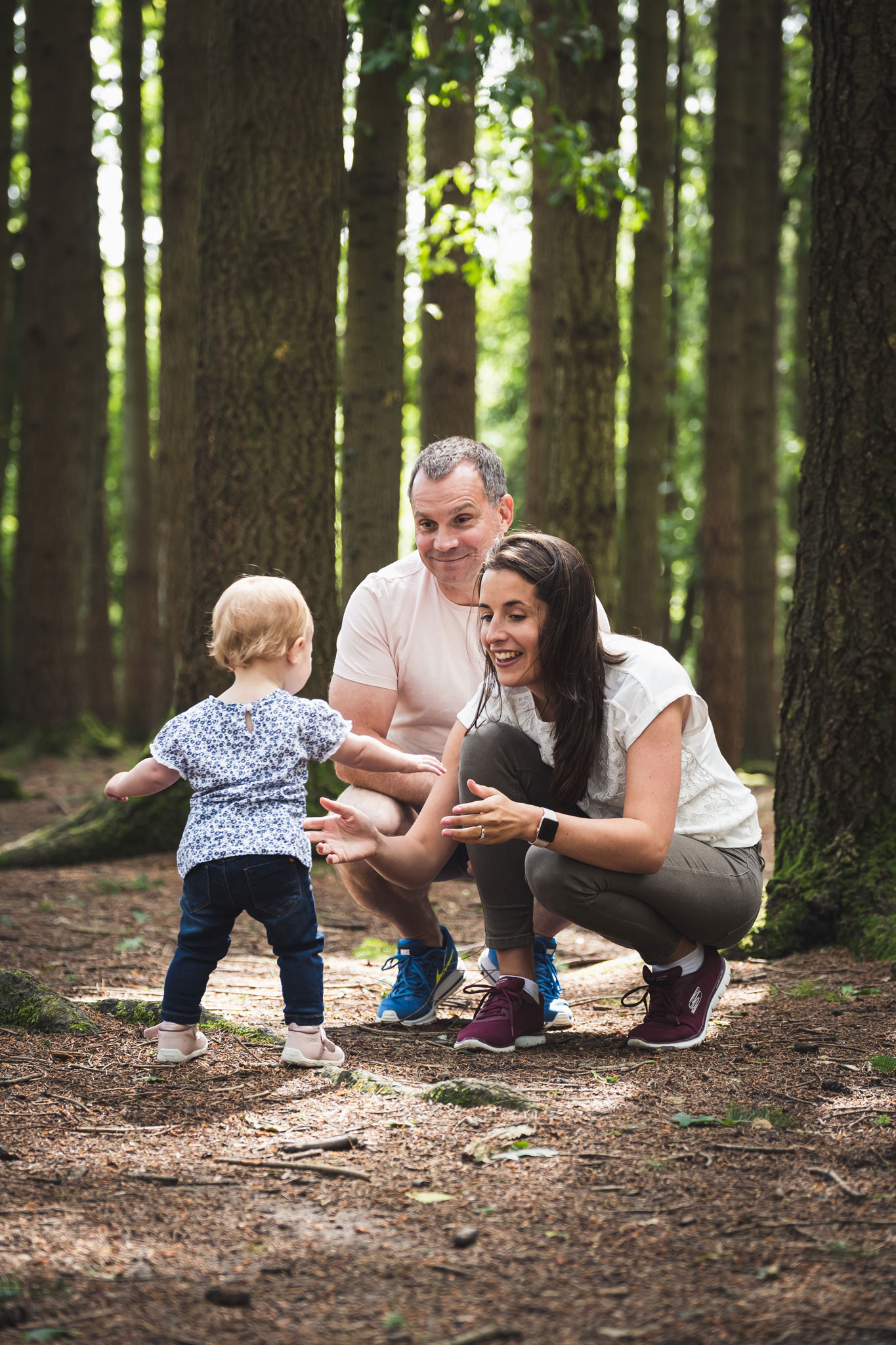 Family in Stover Country Park