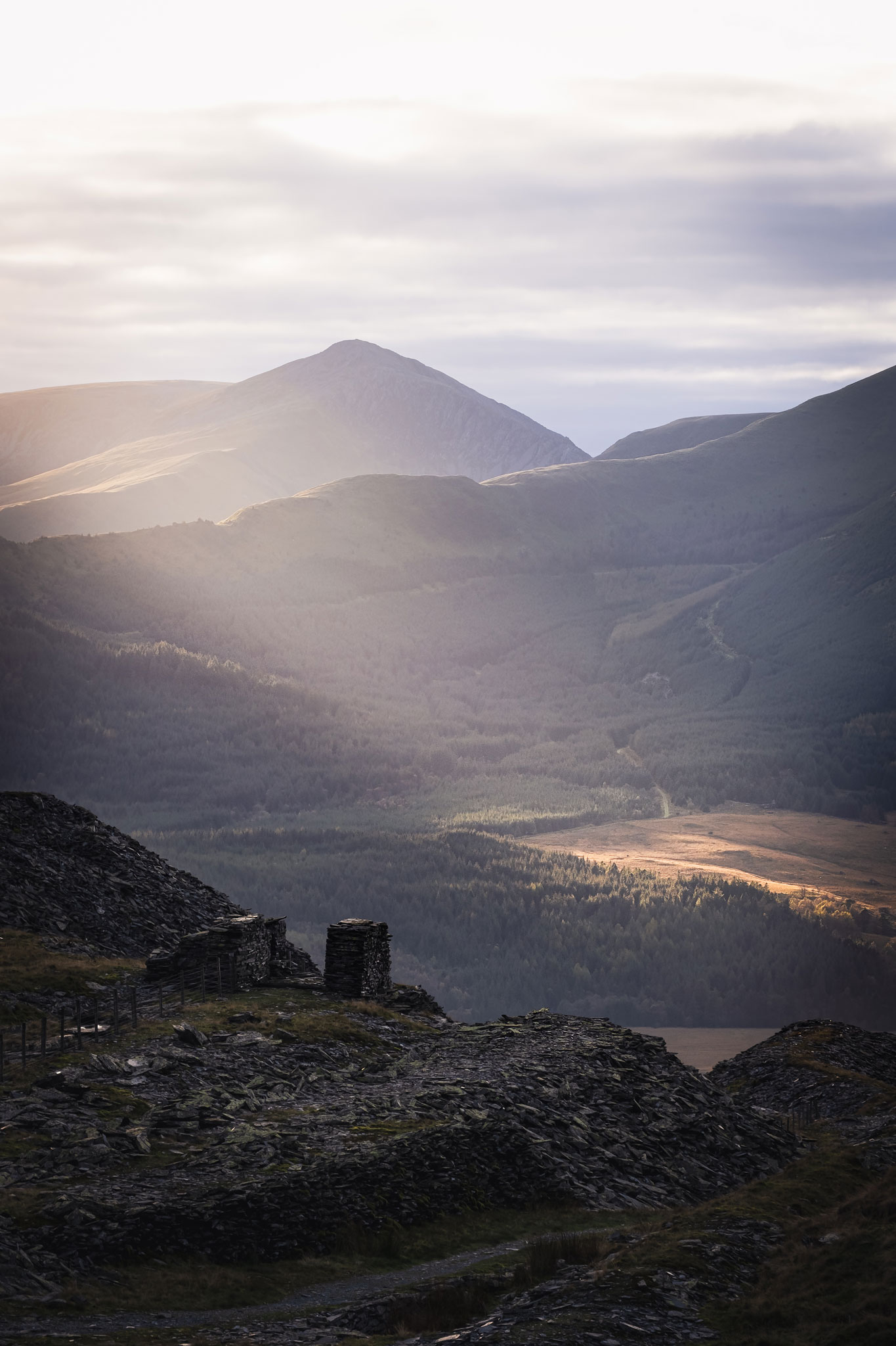 Beautiful Light Snowdonia