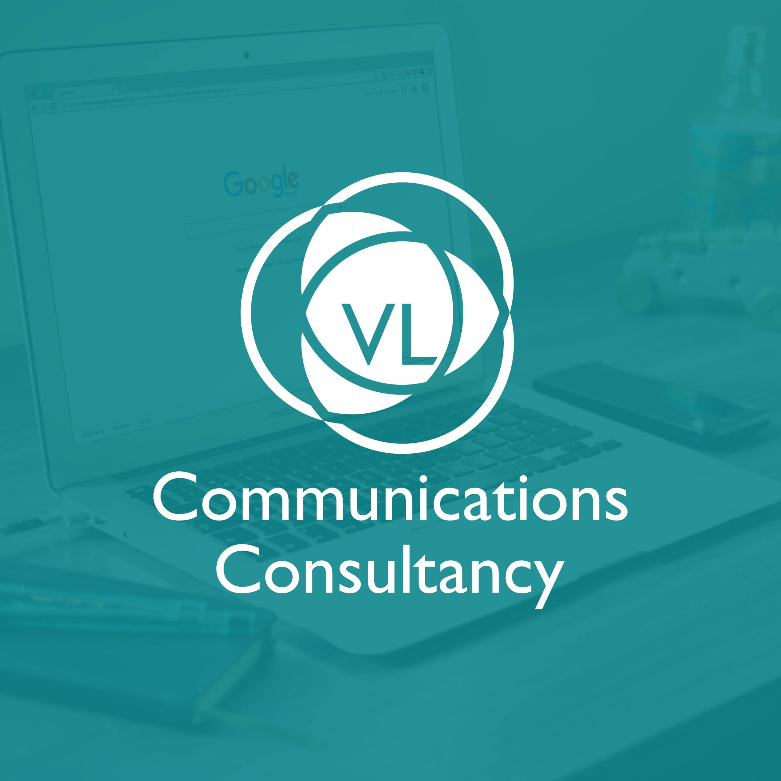 VL Communications Consultancy Branding Logo Design near Bristol