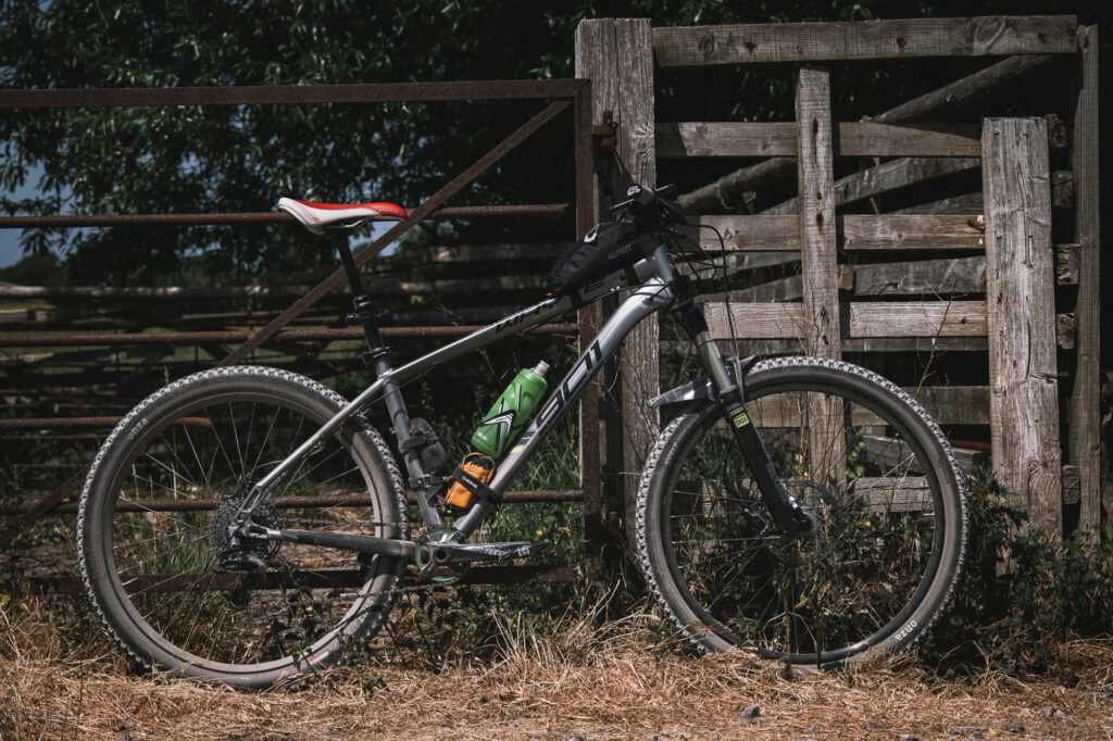 Whyte 901 set up for bikepacking and adventure riding