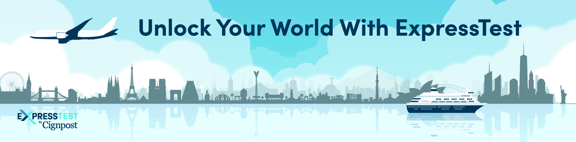 Unlock Your World With ExpressTest supergraphic